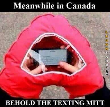 Meanwhile in Canada: