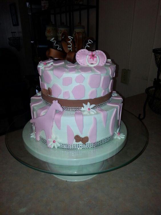 Baby jiraffe cake