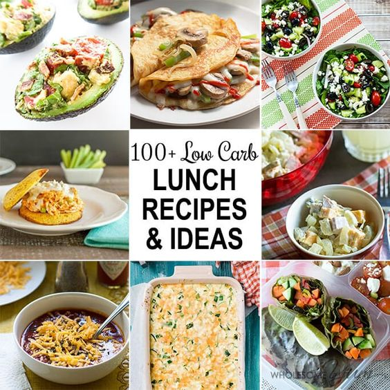 This huge collection of 100+ gluten-free, low carb lunch recipes has all the ideas you could want for easy low carb lunches.
