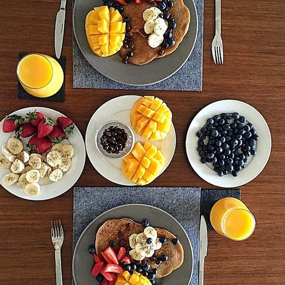"""""""Breakfast is my absolute favourite meal!! ☕️ The first thing I think about in the morning when I wake up...'What am I going to have for breaky?!'…"""""""