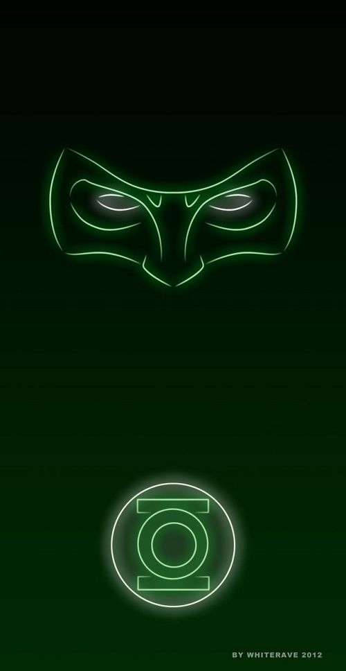 Superheroes Glow With Neon Light | mobile9