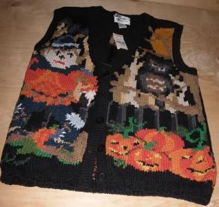 Empress Halloween Sweater New With Tag Medium by dnatoys