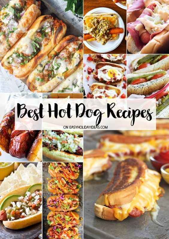 Best Hot Dog Recipes - Easy Holiday Ideas