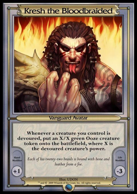 Other - Vanguard MTGO 2 - Kresh the Bloodbraided