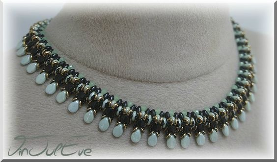 collier Hipona noir menthe1