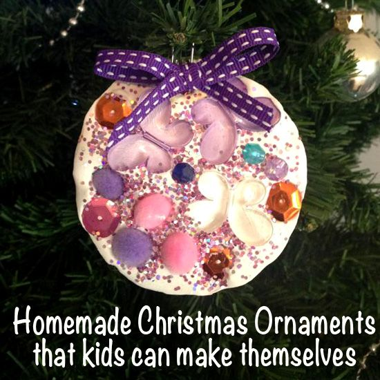 Homemade Christmas Ornaments: Plaster of Paris Decorations