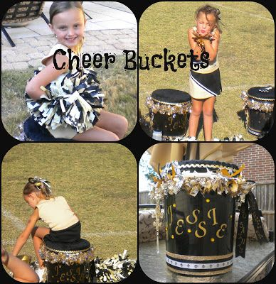 Cheer Buckets Extra Hints!.... Could be good for soccer ECT as well
