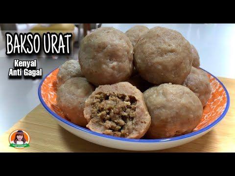 Cara Membuat Bakso Isi Urat Daging Resep Bakso Urat Youtube Makanan Resep Resep Makanan