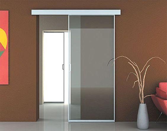 Puerta corrediza de vidrio inspiraci n de dise o de - Puertas de diseno interior ...