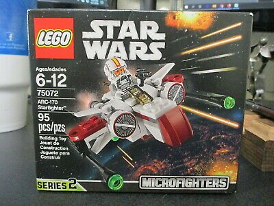 LEGO STAR WARS 75072 Microfighters Series ARC-170 Starfighter SEALED RETIRED