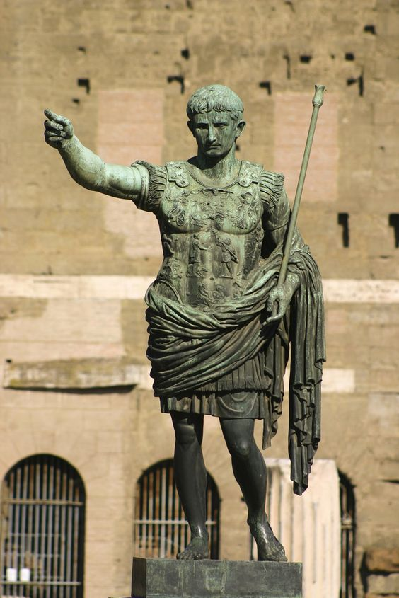 https://flic.kr/p/8Nawkp | Roman sculpture /Caesar Augustus/
