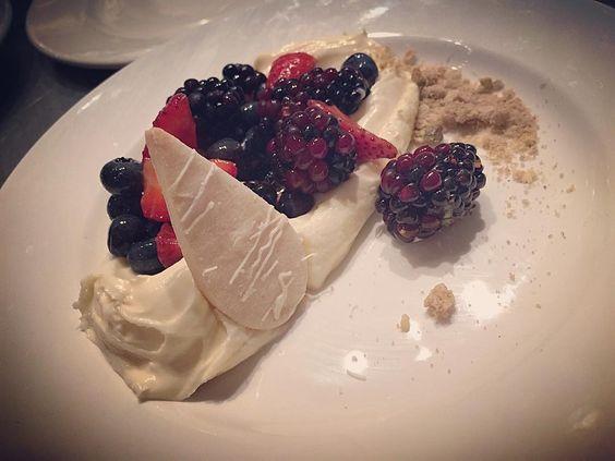 Balsamic Berries. (: #BigCedarLodge #Osage #FavoriteOne #TrueCooks #instafood #Gastronogram #TheArtOfPlating #Gastroart by _auriiazul