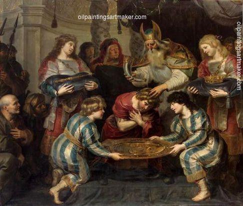Cornelis de Vos Salbung Salomos - Cornelis de Vos, painting Authorized official website