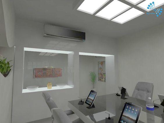 طراحی اتاق کنفرانس-مدیا شید پارسه-طراحی اتاق کار-طراحی داخلی-طراحی دکوراسیون داخلی-معماری داخلی-