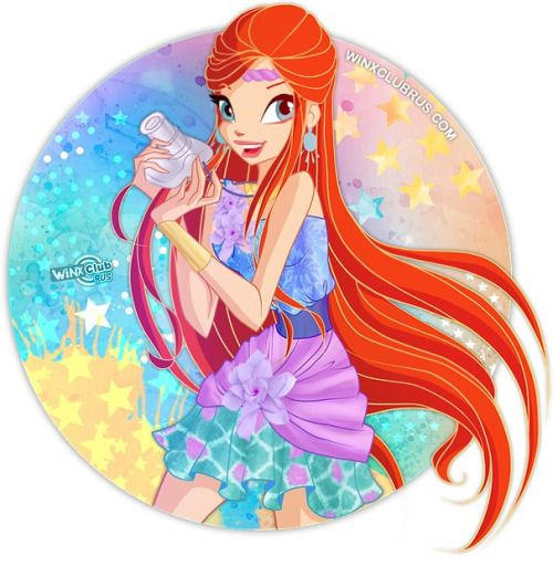 Winx 7 - Bloom & Stella TOURIST Line: