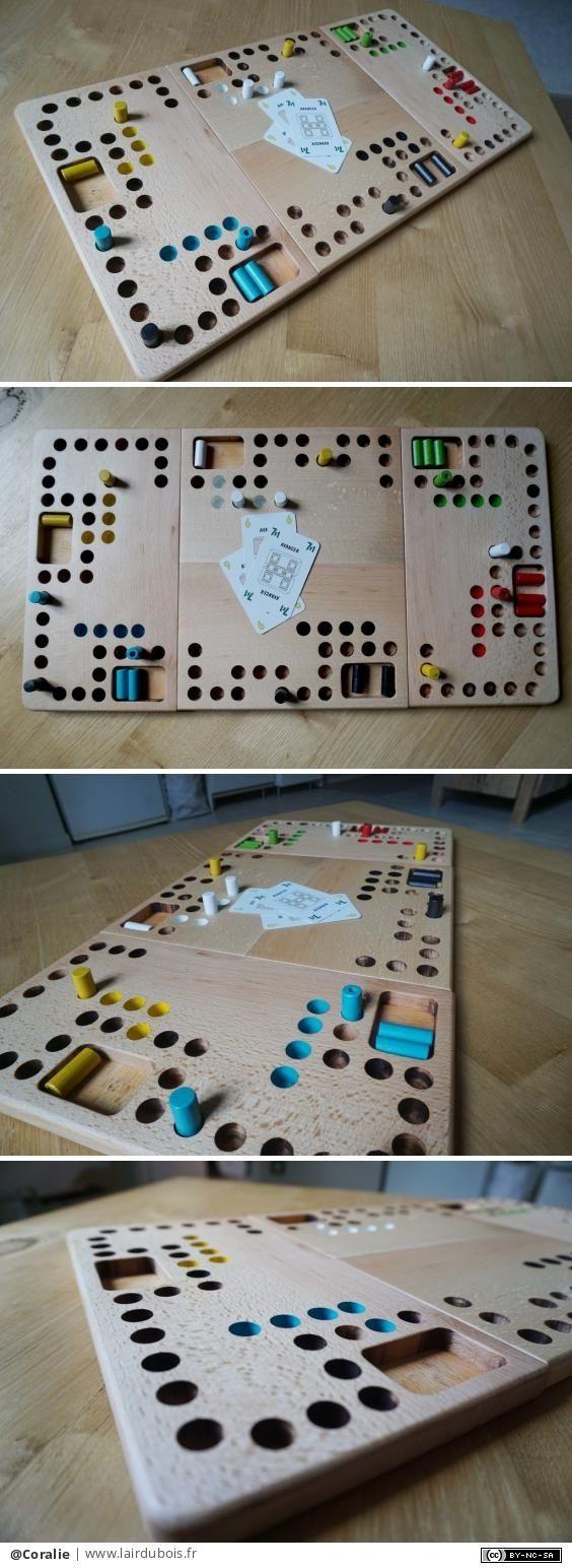 Comment Fabriquer Le Jeu Tac Tik En Bois : comment, fabriquer, Épinglé, Créations