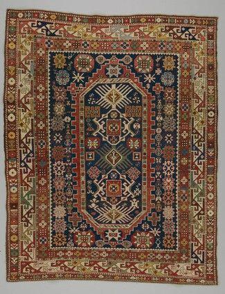 rug Shirvan district  DATE:1850 - 1880 DIMENSIONS:L 126 cm x W 159 cm