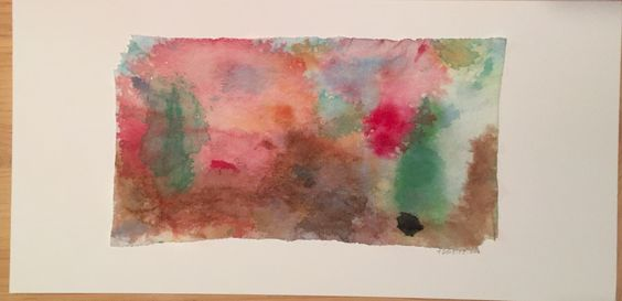 Abstract water color II