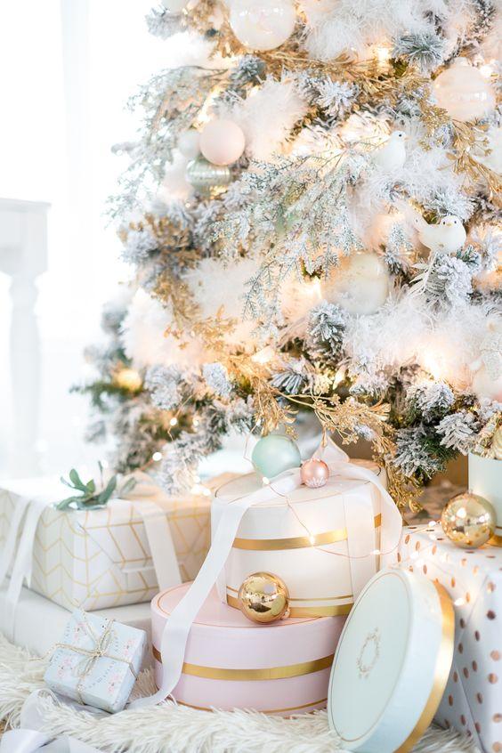 Pastell Weihnachtsdekor  #pastell #weihnachtsdekor