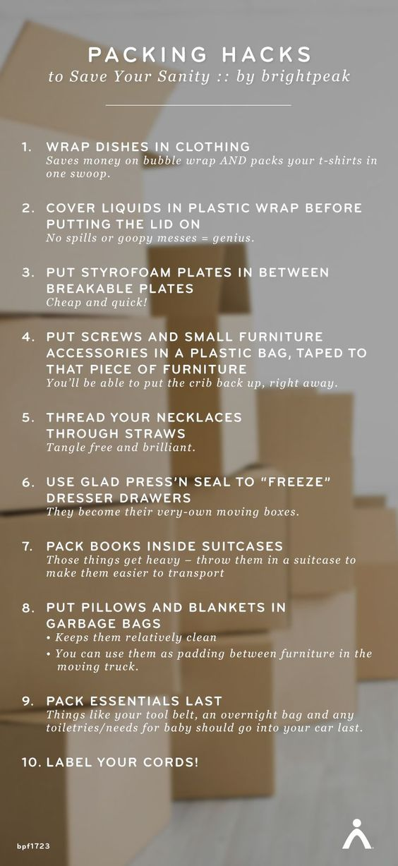 home packing tips and top ten on pinterest