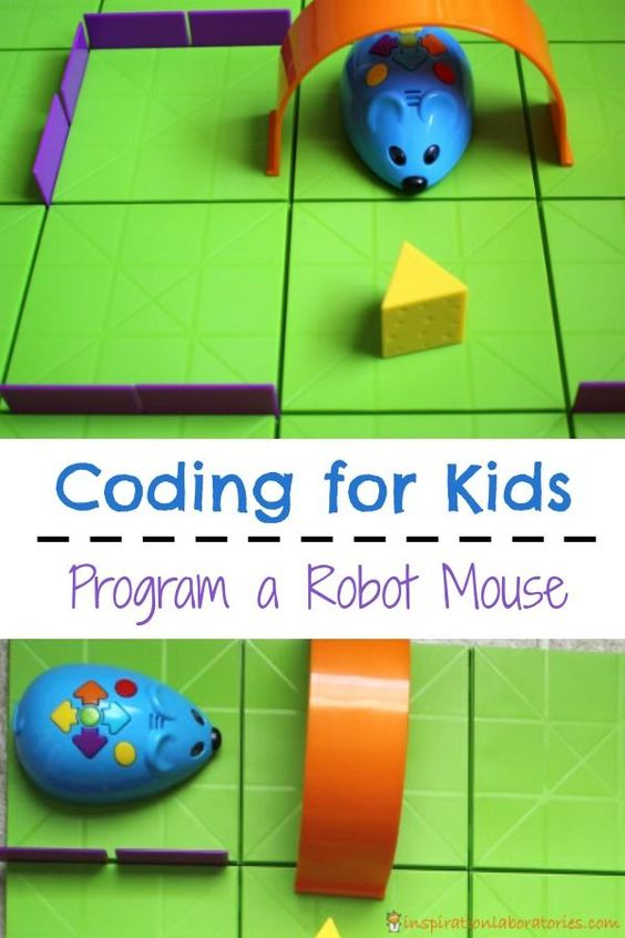 Programming a robot mouse is a great introduction to coding for kids.: