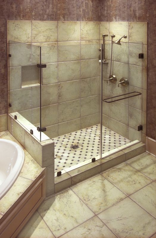 dusche ebenerdig bad ideen erika pinterest badezimmer mit dusche einfaches badezimmer und erdgeschoss - Dusche Im Keller Bauen
