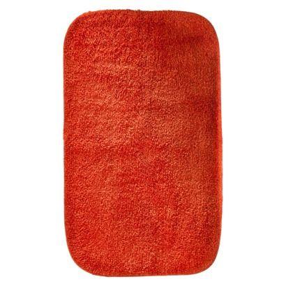 Orange bath mat target