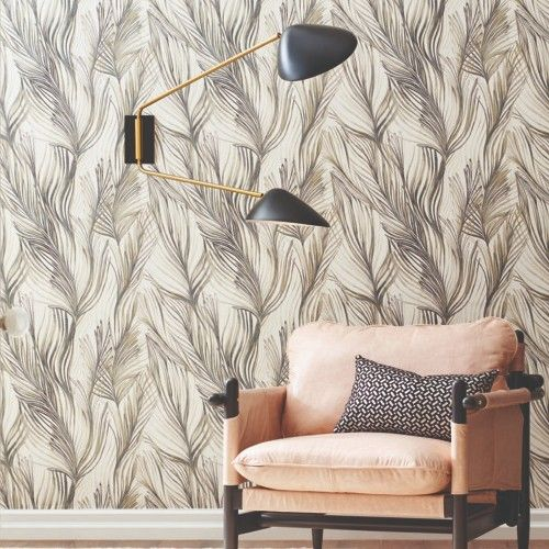 Peaceful Plume Peel And Stick Wallpaper By York Lelands Wallpaper Peel And Stick Wallpaper Removable Wallpaper Home Decor