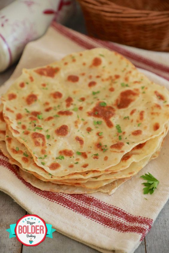 An Easy And Delicious Flatbread Recipe With Only 3 Ingredients