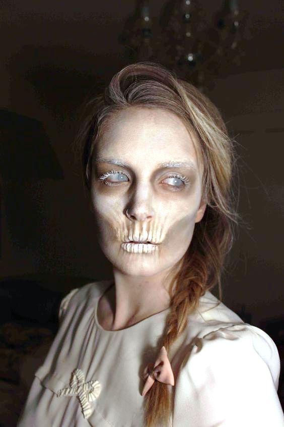 Ghost Makeup Ideas For Women Halloween Makeup Inspiration Scary Makeup Halloween Makeup