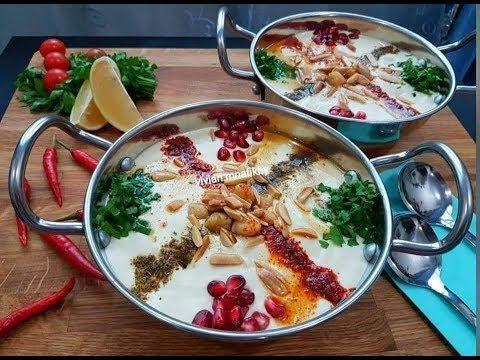 فتة الحمص السورية من أطيب انواع الفتات ومع طريقةسلق الحمص واستوائه بدون اضافةكربونات وبطريقة سهلة Youtube Cooking Food Cooking Art
