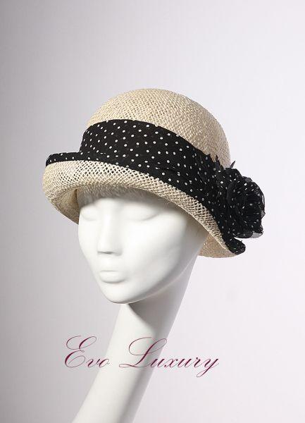 Summer hat Lady Mary BY ELENA USHAKOVA #millinery #hatacademy