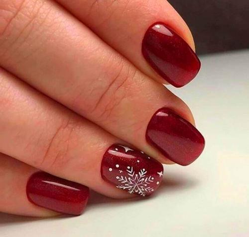 Red Christmas Nails Xmas Nails Holiday Nails Christmas Nails
