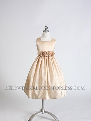 Flower Girl Dress Style 3047- Choice of Color Square neckline with ...