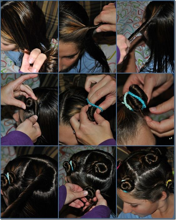 How To make Hair Twirls