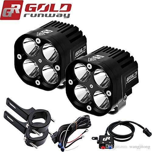 Check Out The Latest Product On Bikenbiker Com Gold Runway Led L