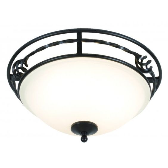 Elstead Lighting PEMBROKE classic period flush ceiling light in