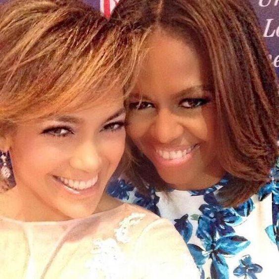 Pin for Later: The 17 Most Important Selfies of 2014 The First Lady Selfie