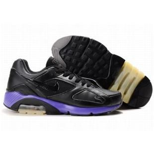 http://www.asneakers4u.com/ 505016 011 Nike Air Max 180 Black Purple D07011