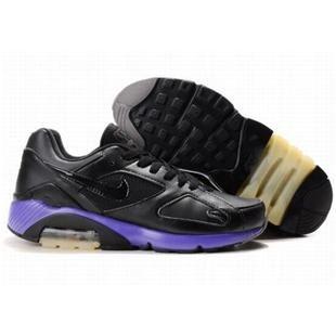 http://www.asneakers4u.com/ 505016 011 Nike Air Max 180 Black Purple D07011