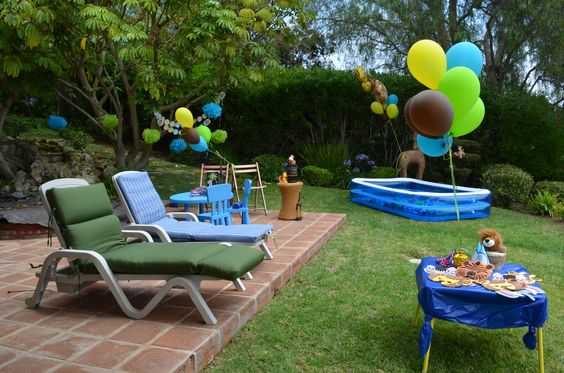 Our Backyard Jungle Party Central