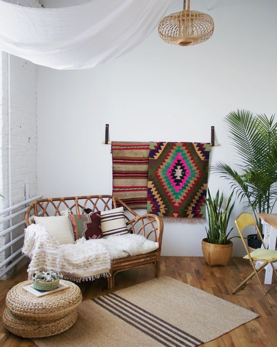 Bohemian Style Studio Makeover - Centered by Design