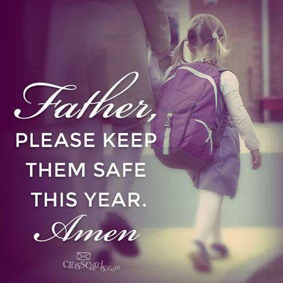 Please keep them safe...