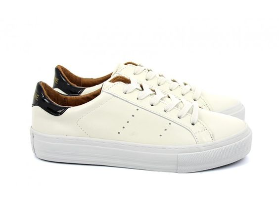 ARCADE SNEAKER - ALTEZZA LEATHER - CREMA FOX DOVE - No Name Eshop