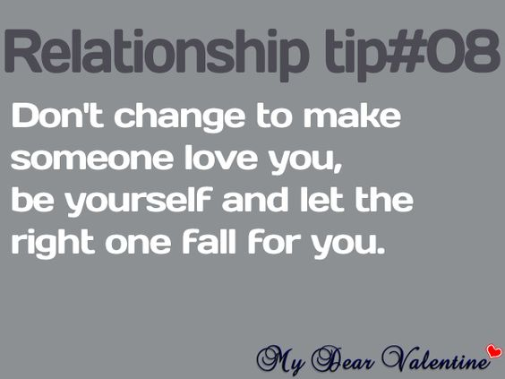 Dating advice just be yourself-in-Fordell