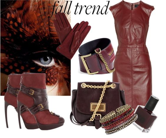 """""""fall trend"""" by dijanag ❤ liked on Polyvore"""