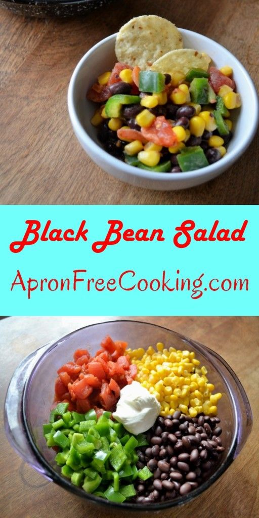 Black Bean Salad from www.ApronFreeCooking.com