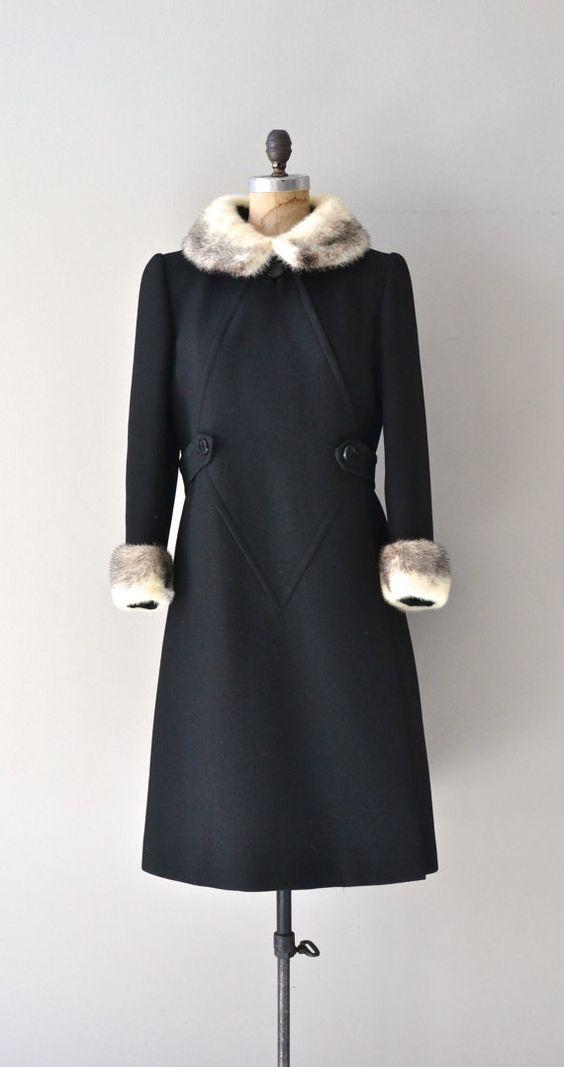 Mink Collar Coat