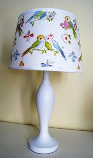 fabric lamp cover
