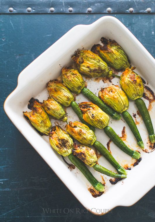 Zucchini Flowers Recipe Stuffed with Bacon, Ricotta ...